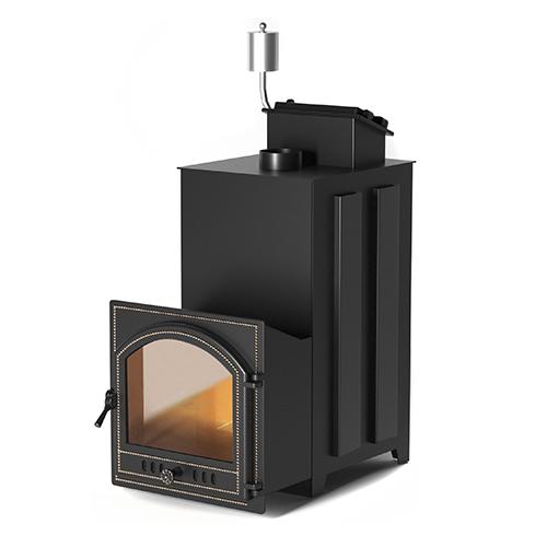 Печь для бани из нержавеющей стали AISI 430 Эверест INOX 25 (205)